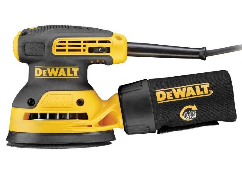 Excentrická bruska DeWALT DWE6423-QS - 280W, 125mm, 1.3kg