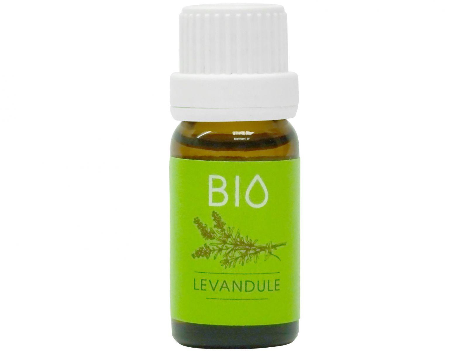 Hanscraft 100% BIO esenciální vonný olej - 11ml BIO aroma do saun, infrasaun, aromalamp, odpařovačů a difuzérů - Levandule (LEVANDULA ANGUSTIFOLIA)