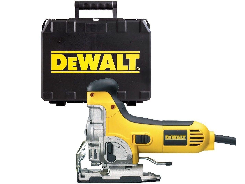 Přímočará pila DeWALT DW333K-QS - 701W, 130mm, 2.8kg, v kufru