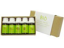 100% BIO aroma esence Hanscraft kolekce 2 (5x mix esenciálních vonných olejů 11ml)