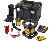 Aku rotační laser DeWALT DCE074D1R-QW - 1x 18V/2.0Ah, kufr