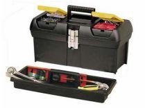 Kufr na nářadí STANLEY 1-92-067, plastikový s kovovými zámky, 60x28.9x27.9cm