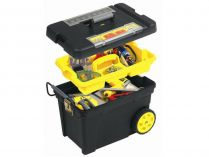 Box na nářadí STANLEY 1-92-904, pojízdný s organizérem - 61.3x37.5x41.9cm