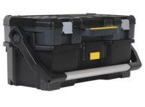 Box na nářadí STANLEY 1-97-506, s plastikovým organizerem, 67.0x32.3x25.1cm