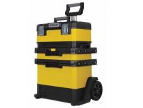 Kovo-plastový pojízdný montážní box výsuvný STANLEY 1-95-621 - 73x56.8x38.9cm