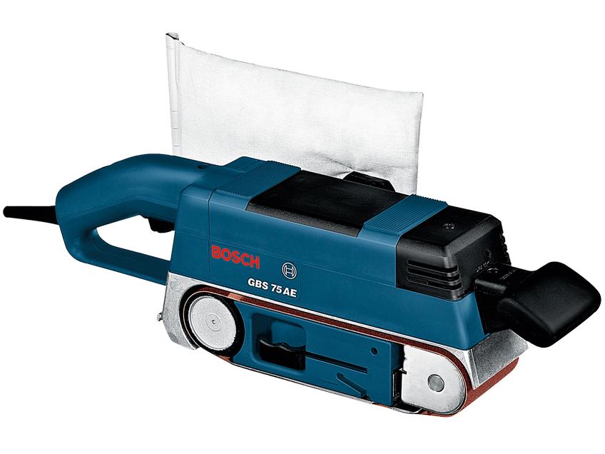 Pásová bruska Bosch GBS 75 AE Professional - 75x533mm, 750W, 3.4kg (kód 0601274708) Bosch PROFI
