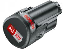 Zásuvný akumulátor Bosch PBA 12V/2,5Ah O-B Li-Ion (kompatibilní s aku 10,8V a 12V)