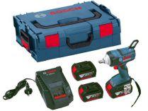 Bosch GDS 18 V-EC 250 Professional - 2x 18V/5.0Ah, 250Nm, 1.9kg, kufr L-BOXX, aku rázový utahovák