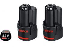 2x Akumulátor Bosch GBA 12 V 3.0 Ah Professional - 12V/3.0Ah, 0.18kg, 2ks