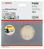 Bosch Best for Wood and Paint - brusná mřížka 150mm, zrnitost P400, M 480 Net, 5ks, do excentrické brusky na jemné broušení pryskyřice, dřeva, barev a omítek atd. (kód 2608621170) Bosch příslušenství