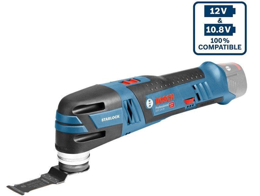 Bosch GOP 12V-28 Professional Aku multifunkční nářadí - 12V, 1.0kg, bez akumulátoru a nabíječky (06018B5001) Bosch PROFI