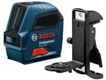 Křížový laser Bosch GLL 2-10 Professional + Držák kř. laserů Bosch BM 3 Professional