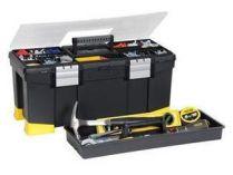 Kufr na nářadí STANLEY 1-97-512, plastikový box s organizérem - 55.6x25.7x24.8cm