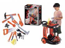Dětské nářadí G21 FACILITY s pojízdným vozíkem