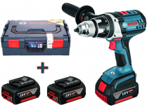 Bosch GSR 18 VE-2-Li Professional - 3x 18V/5.0Ah, 80Nm, 2 rychl., 2.4kg, kufr, aku vrtačka bez příklepu