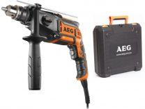 Příklepová vrtačka AEG SB2E-850 R - 850W, 56Nm, 13mm, 2.7kg, kufr