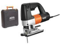 AEG STEP 1200 BX - 600W, 110mm, 2.4kg, FIXTEC matice, kufr, přímočará pila