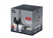 Tyčový mixér G21 VitalStickPro - 1000W s Food Procesorem - White, dva sekací nože, disk na krájení plátků a strouhání, disk na výrobu kostiček (600863)