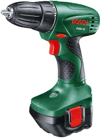 Bosch PSR 12 (2x aku) aku vrtačka