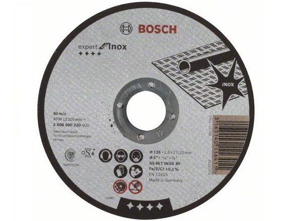 Řezný kotouč Bosch Expert for Inox 125mm/1,6 na železo, kov a nerez (2608600220) Bosch příslušenství