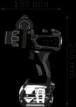 Bosch GSR 18 VE-EC Professional bezuhlíková aku vrtačka bez příklepu - 2x aku 18V/5.0Ah + extra 1x aku 5.0Ah + svítilna GLI VariLED + USB adaptér GAA 18V-24, v kufru L-BOXX (06019F1102) Bosch Professional