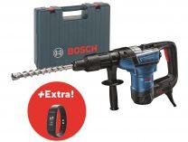 Vrtací a sekací kladivo Bosch GBH 5-40 D Professional - SDS-Max + FITNESS NÁRAMEK