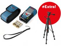 Bosch GLM 150 Professional + stativ BT 150 + pouzdro, Profi laserový měřič vzdálenosti - dálkoměr