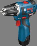 Bosch GSR 12V-20 Professional aku vrtačka bez příklepu - 2x aku 12V/2.5Ah + extra 1x aku 12V/2.0Ah, 20/18Nm, 0.9kg, v kufru L-BOXX 102 (06019D4004) Bosch Professional