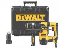 Kombinované kladivo DeWALT D25324K-QS - 800W, 2.8J, 3.5kg, kufr, pneumatické kladivo SDS-Plus