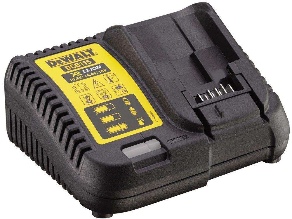 DeWALT DCB115-QW Nabíječka pro baterie 10.8, 14.4 a 18 V Li-Ion