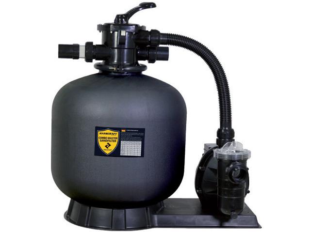 Kompletní písková filtrace do bazénů HANSCRAFT COMBO MASTER 400 - 6m3/hod (kód: 304024)