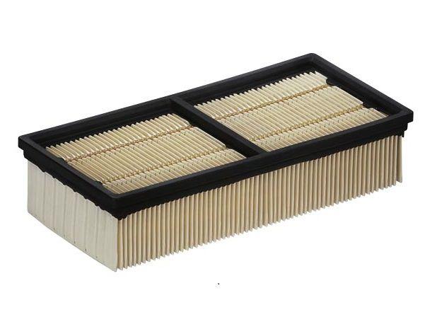 Plochý skládaný filtr balený (papír) Kärcher - třída prachu M pro VC 60/24-2 Tact², IVC 60/30 Tact², NT 55/2 Tact² Me I, NT 65/2 Tact², NT 65/2 Tact² Tc, NT 75/2 Tact² Me, NT 75/2 Tact² Me Tc (6.907-276.0)