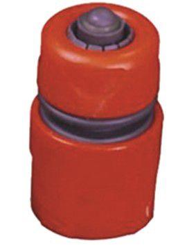 Konektor na zahradní hadici, k propojení s bazénovým vysavačem, červený plast, 0.15kg (311440) Hanscraft