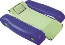 Bazénové nafukovací křeslo plovoucí, zelenomodré, 5kg