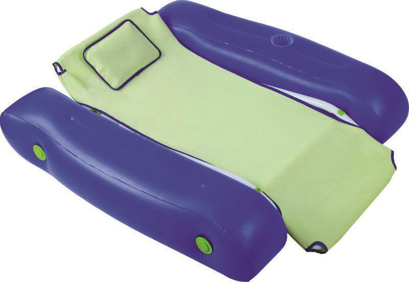 Bazénové nafukovací křeslo plovoucí, zelenomodré, 5kg (311382) Hanscraft