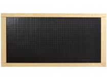 Podlahový karbonový panel na nohy do infrasauny s dřevěným rámem 76 x 38,5 cm