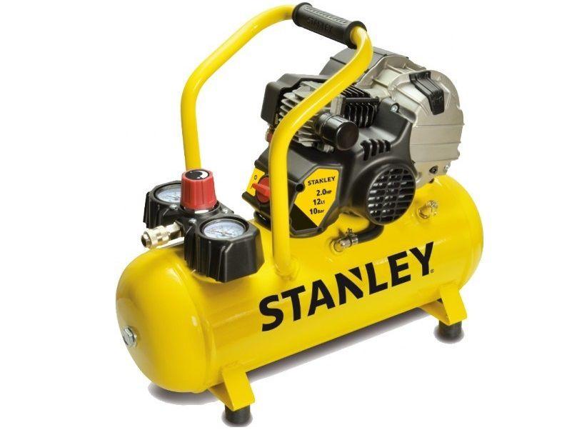 STANLEY HY 227/10/12 Samomazný přímo řízený kompresor - 1.5kW, 10bar, 222l/min, 12l, 14.4kg (HY227_10_12)