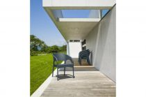 Zahradní křeslo PANAMA - SIESTA EXCLUSIVE - šedé, 58x80x64cm, 4kg, PP plast/skelná vlákna (441711) Siesta (Hanscraft)