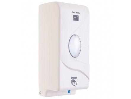 Automatický dávkovač mýdla G21 Resil White, plast, 6xAAbaterie(1,5 V), 800ml, 0.9kg, 11x26x10.5cm (635366)
