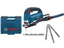Přímočará pila Bosch GST 90 BE Professional - 650W, 2.6kg, 25ks pilových plátků, kufr