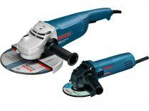 Set úhlových brusek Bosch GWS 22-230 JH Professional + Bosch GWS 850 C Professional