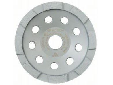Diamantový brusný hrnec Bosch Standard for Concrete - pr. 125x22.23/5.0mm, 1-řadý segment (2608601573) Bosch příslušenství
