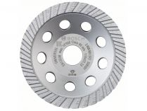 Diamantový brusný hrnec Bosch Standard for Universal Turbo - pr. 115x22.23/5.0mm, 1-řadý segment