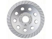 Diamantový brusný hrnec Bosch Standard for Universal - pr. 125x22.23/5.0mm, 1-řadý segment
