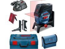 Bosch GLL 2-50 C Professional + RM 2 + BM 3 + kufr L-Boxx, křížový laser s Bluetooth