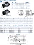 Odstředivé čerpadlo Hanscraft TUDOR 370 - 10.8m3/h, 0.37kW, hydromasážní čerpadlo, 5.5kg (304001)