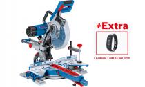 Pokosová pila s pojezdem Bosch GCM 350-254 Professional - 1800W, 254mm, 24.2kg + dárek