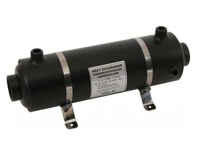 Tepelný výměník PAHLÉN Hi-Flow 28 kW - HF 28 - pro ohřev vody v bazénu a vířivce 3.2kg (301321) Hanscraft
