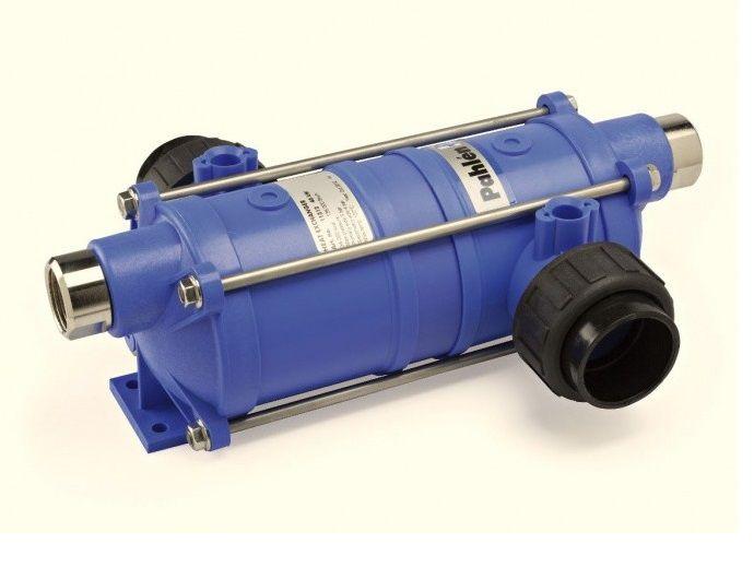 Tepelný výměník PAHLÉN Hi-Temp 40 kW - HT 40 - plastový, pro ohřev vody v bazénu a vířivce, 2.2kg (301330) Hanscraft