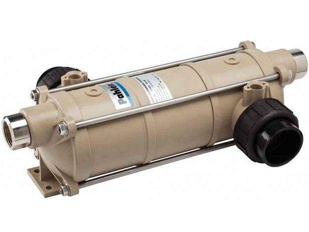 Tepelný výměník PAHLÉN Hi-Temp 40 kW - HTT 40 - plastový-tit.spirála,pro ohřev vody v bazénu a vířivce, 2.5kg (301331) Hanscraft